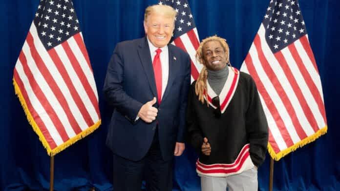Donald Trump concede perdão ao rapper Lil Wayne, que podia enfrentar 10 anos de prisão